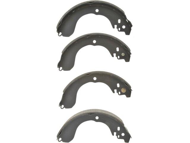 Compatible with 2007-2012 Nissan Sentra 2.0L 4-Cylinder Rear Brake Shoe Set of 4