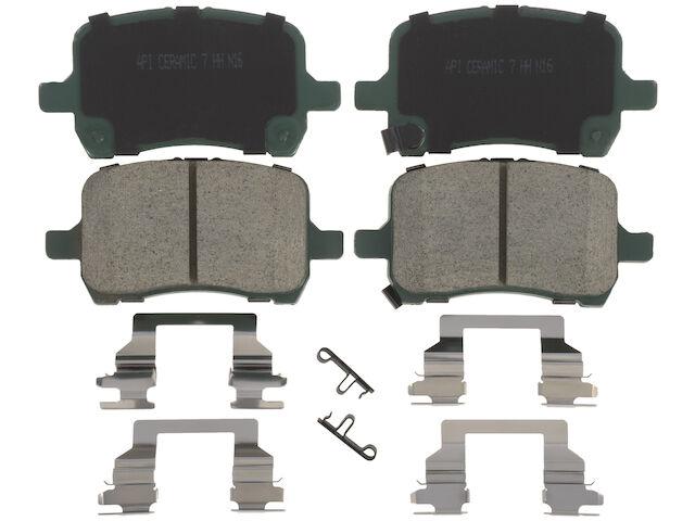 Front Brake Pad Set For 2007-2009 Saturn Aura 2008 P494WC