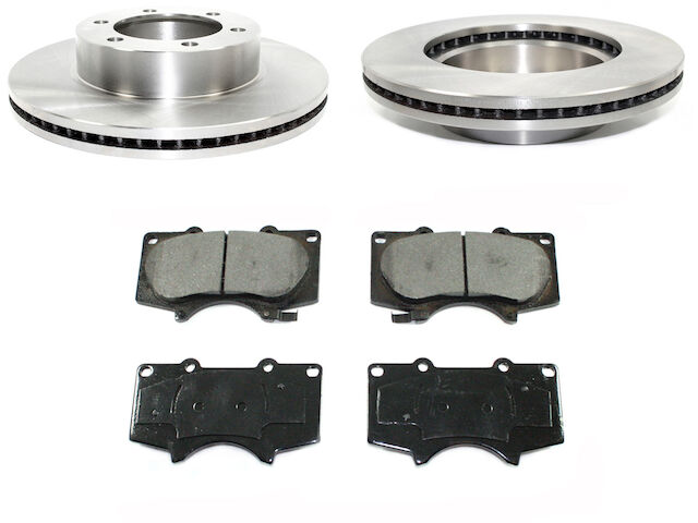 Front Brake Pad and Rotor Kit For 2000-2006 Toyota Tundra 2004 2001 2002 F389HF